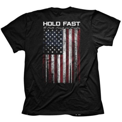 HOLD FAST-AMERICAN FLAG